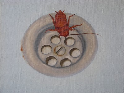"""Beetle"", oil on canvas"